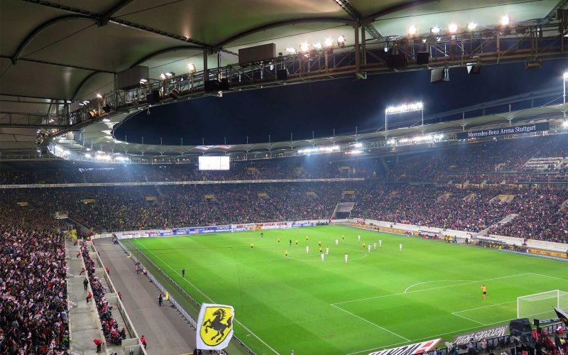 Fussball-Stadion-Stuttgart